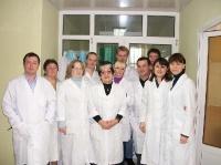 Сотрудники лаборатории иммунологии и биологии клетки с  группой молекулярной биологии
